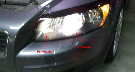 volvo s headlights are dim any ideas