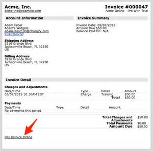 Line 50 Invoice Template by Invoice Billing Now Allows Customers To Pay Invoices