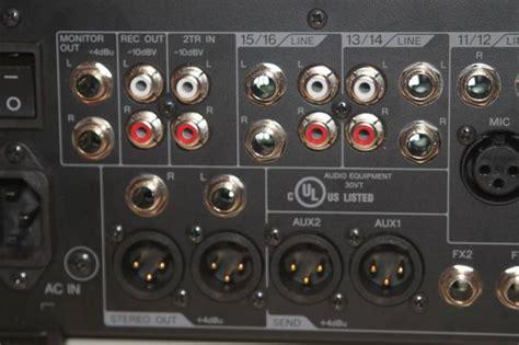 Audio Mixer Yamaha Mgp16x yamaha mgp16x image 701733 audiofanzine