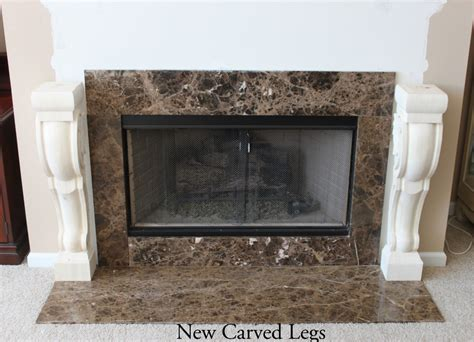 Fireplace With Corbels Fireplace Surround Carved Corbels Architectural Depot