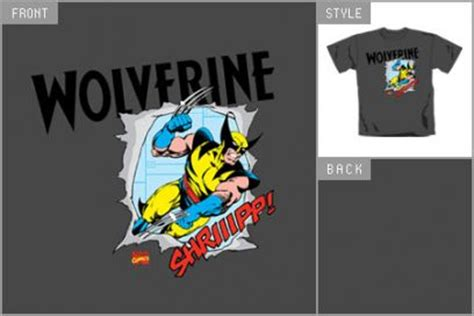 Tshirt X Worverine W wolverine t shirts