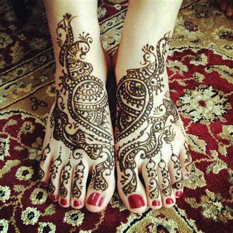 6 mehndi designs for legs that are show stopping