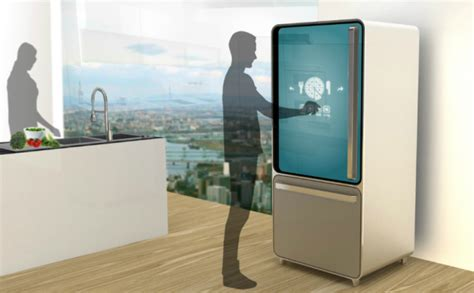 Brooklyn Kitchen Design Is The Smart Fridge Concept The Refrigerator Of The Future