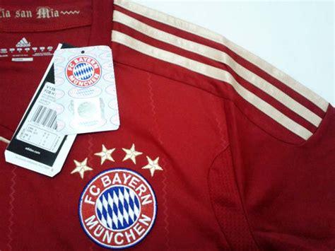 Gw Soccer A Bayern Munchen Bordir Baju Bola Anak Murah baju bola adidas fc bayern munchen home jersey v13554 univerred gudang sport