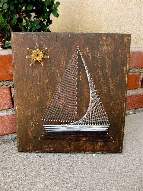 String Boat - sail boat string primary school