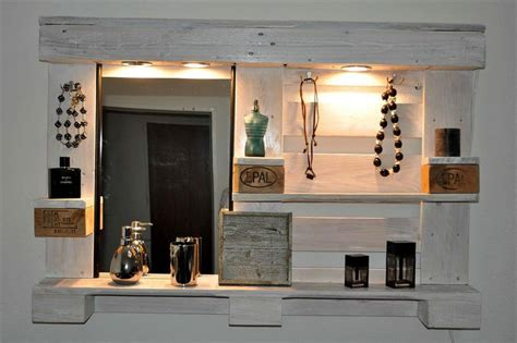 Spiegelschrank Organizer by 15 Surprising Diy Pallet Projects For Your New Home