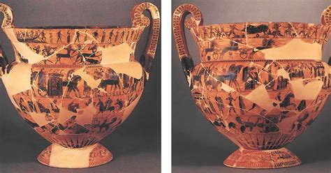 vaso di francois il vaso di ergotimos e kleitias