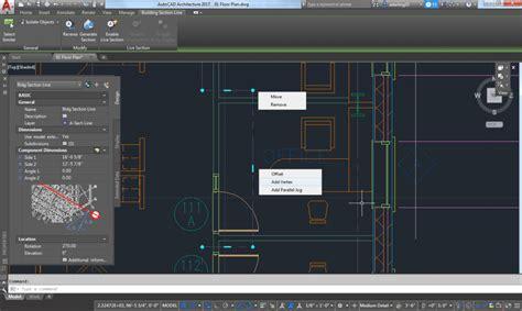 section line autocad autocad architecture bim