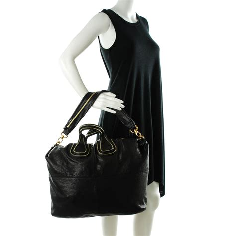 Givenchy Studded Shopper 2 by Givenchy Lambskin Studded Maxi Nightingale Shopper Tote