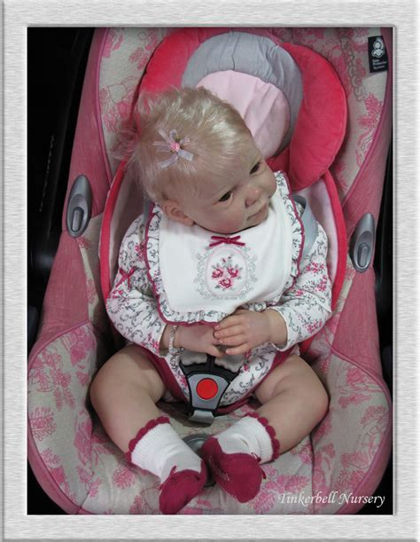 reborn car seats on ebay tinkerbell nursery relisted cuddly baby doll reborn
