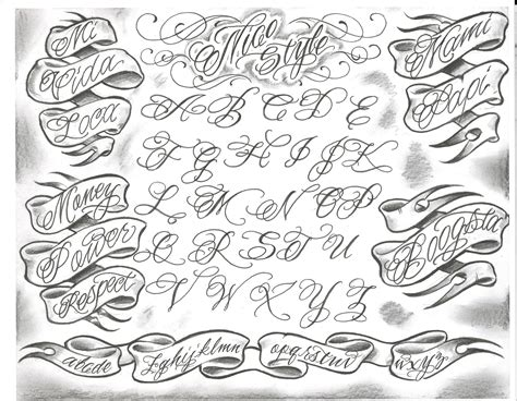 tattoo letter font just pinning for the font damage