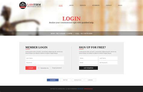 themeforest login template firm multi purpose psd template by designingmedia