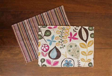 diy sided placemats allfreesewing