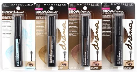 Maybelline Eyebrow Mascara Review Harga maybelline eye studio brow drama review clear soft brown brown realizing