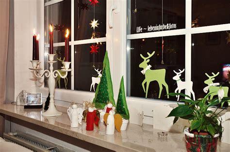 fenster weihnachtlich dekorieren tag 187 basteln 171 lebeninfarbe