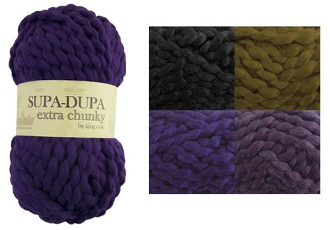 chunky knit yarn king cole supa dupa chunky knitting yarn soft knit