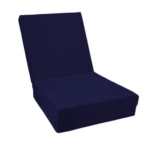 Futon Cube by 100 Cotton Fold Out Cube Guest Z Bed Chair Cube