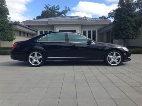 2011 mercedes s550 amg find used 2011 mercedes s550 amg sport package 105k