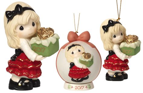 2017 dated christmas ornaments and figurines are available