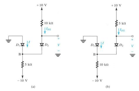 constant voltage drop model diode exle find voltage across diode physics forums the fusion of science and community