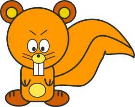 Cartoon Squirrel Clip Art at Clker.com vector clip art online