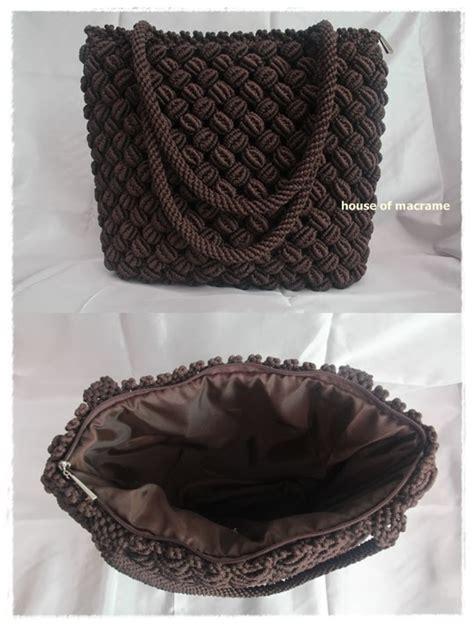 cara membuat tas tali kur jagung about macrame macrame bag motif jagung dan keranjang besar