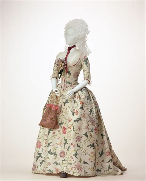 18th century french clothing dress the french revolution robe 224 l anglaise 1785