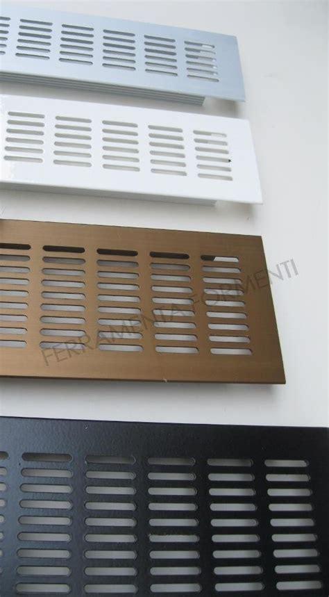 griglie per porte griglia areazione in alluminio da incasso per mobili e