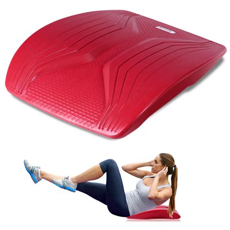 goplus abdominal trainer sit  support pad crunch exercise ab mat workout red walmartcom