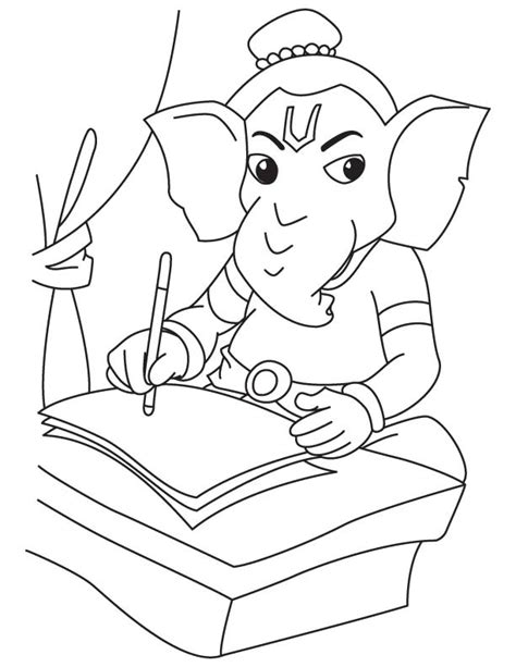 lord ganesh drawing for children download free lord