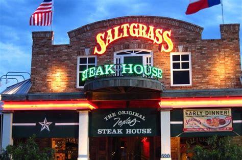 salt grass steak house front of restaurant picture of saltgrass steak house houston tripadvisor