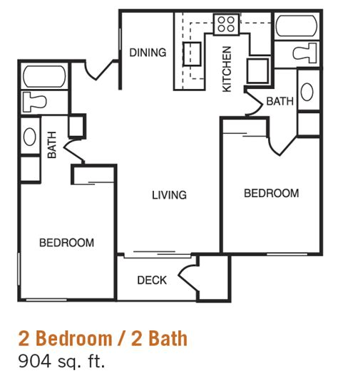 2 bed 2 bath floor plans home planning ideas 2017