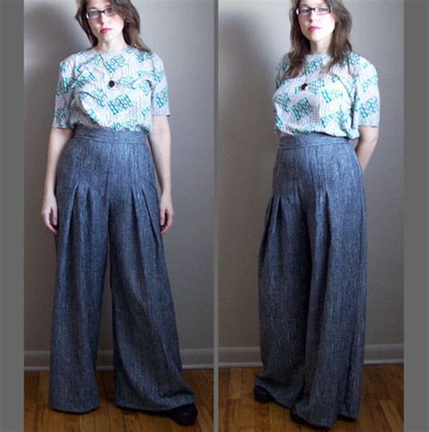 sewing pattern wide leg pants 1970s wide leg pants sewing projects burdastyle com