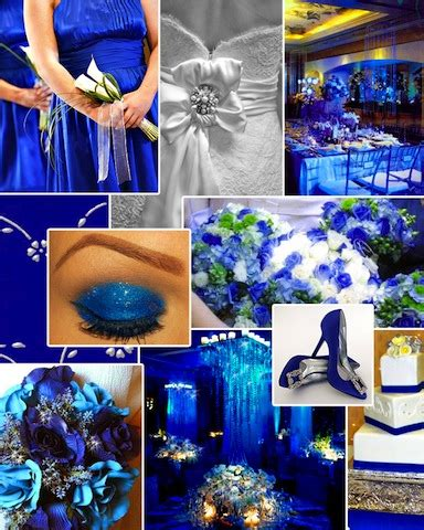 combination of blue choosing the best color scheme for your wedding design