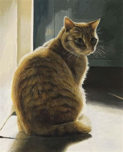 cat painting pics chappel galleries celia pike