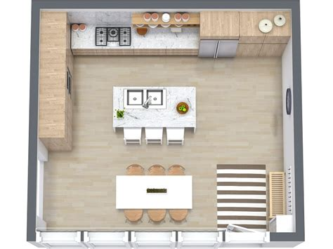 kitchen floor plans ideas 7 kitchen layout ideas that work roomsketcher blog