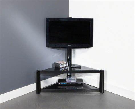 Meuble Tele En Bois 1233 by Meuble Tv D Angle Noir Laqu 233 Sellingstg