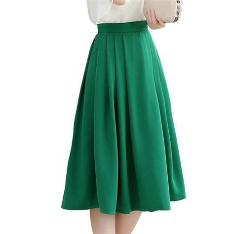 women s skirts womens summer dresses mountain 2015 summer new women pleated high waist chiffon skirts