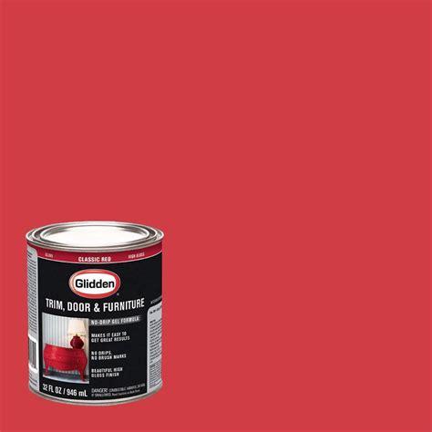 home depot paint trimmer glidden trim and door 1 qt classic gloss interior