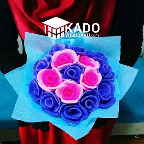 Bouquet Wisuda Size L Redfushia bouquet bunga wisuda kado wisudaku