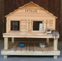 outdoor cat house plans 25 best ideas about cat house plans on 5