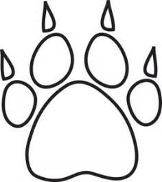 paw print printable clipart