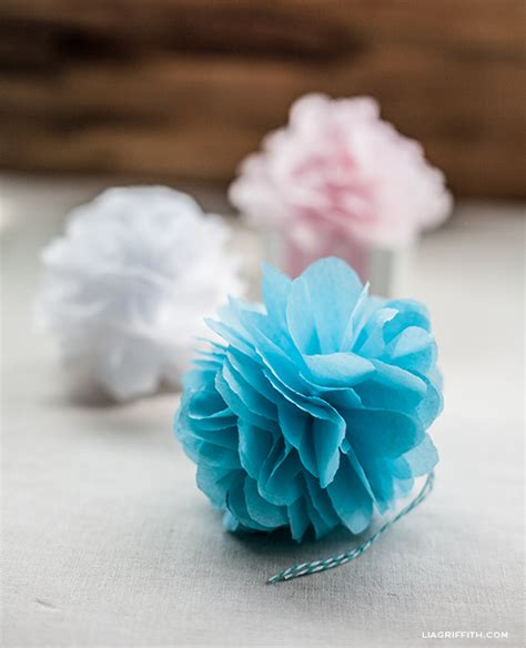 Wonderful  Ee  Diy Ee   Tissue Paper Pom Pomowers
