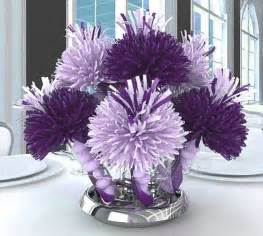 purple centerpieces ideas purple baby shower decorations favors ideas