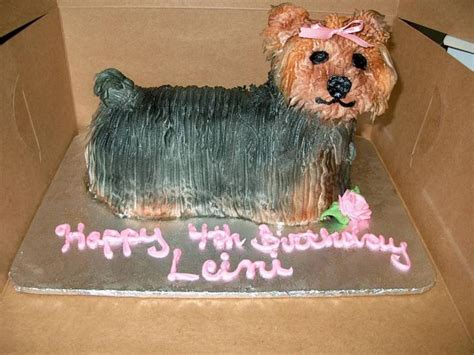 yorkie cake yorkie birthday cake cakes gallery