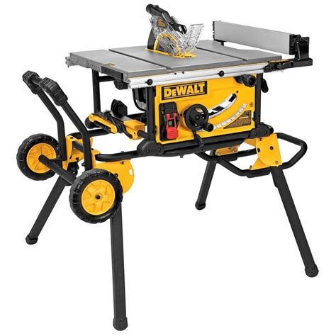 10 shop table saw shop dewalt 10 in carbide tipped table saw at lowes com