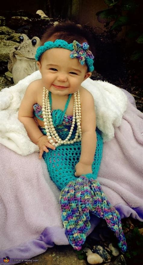 handmade baby mermaid costume