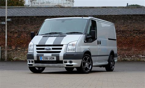 van ford transit car and driver