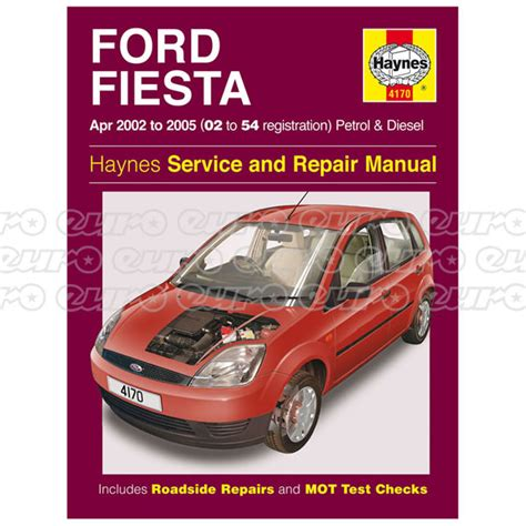 haynes manual ford fiesta petrol diesel apr 2002 2008 haynes workshop manual ford fiesta petrol diesel apr 02 05 euro car parts