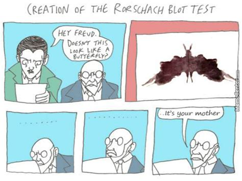 test freud the trials and tribulations rorschach and freud d